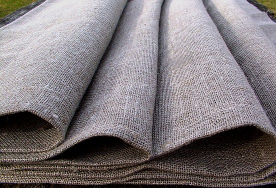 loosely woven linen fabrics